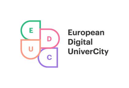Logo European Digital UniverCity Alliance